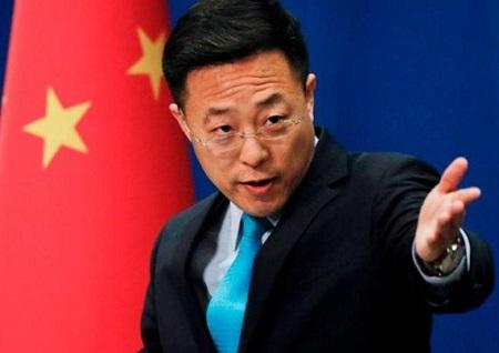 中国外務省報道官