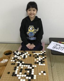 囲碁天才少女