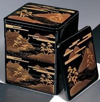 蒔絵の重箱