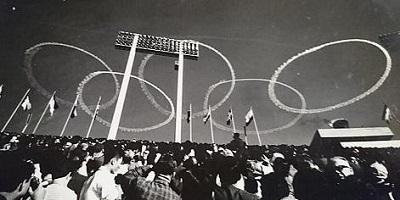 ブルーインパルス・1964年東京五輪