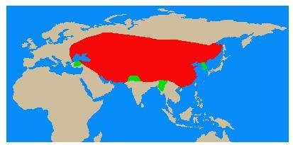 蒙古の領土