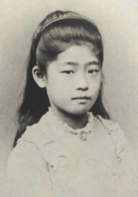 津田梅子幼少期
