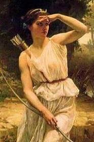 アルテミス絵画