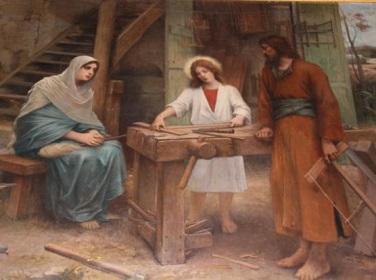 ナザレのヨセフ大工
