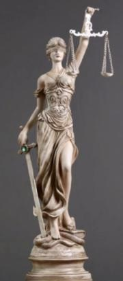 正義の女神のアトリビュート