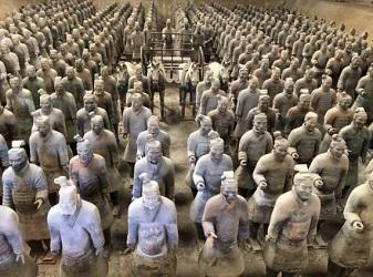 秦の兵馬俑