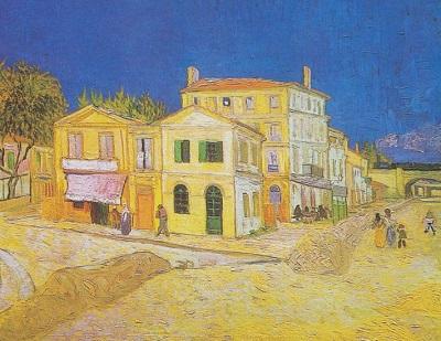『黄色い家』1888年9月、アルル。
