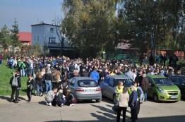 Ewakuacja uczniów na bezpieczną odległość