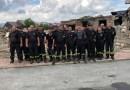 Strażacy z gminy pomagali pogorzelcom w Nowej Białej