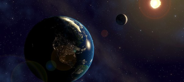 земля луна солнце
