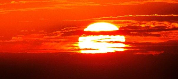 Палящее солнце