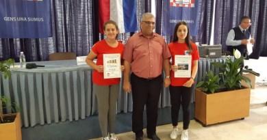 Odlično drugo mjesto za našu ekipu na 14 – tom KUP natjecanju za žene Šahovskog saveza Herceg Bosne