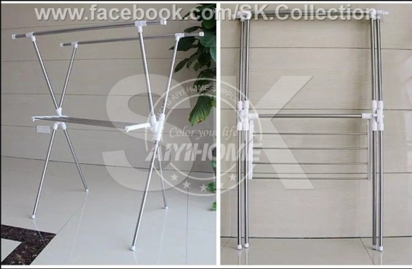 Buy X Shape Fold-able Clothes Dryer