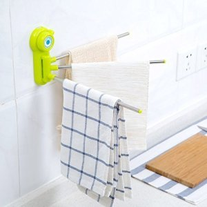 Three Arm Towel Rack