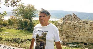 Vladimir Marinko se pradedovskoj zemlji u Koljane vratio peške