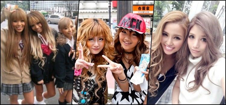 Gyaru - Conheça o estilo independente no Japão - gals 1