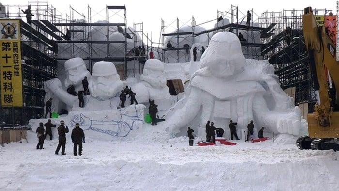 Sapporo snow festival - piyesta ng niyebe