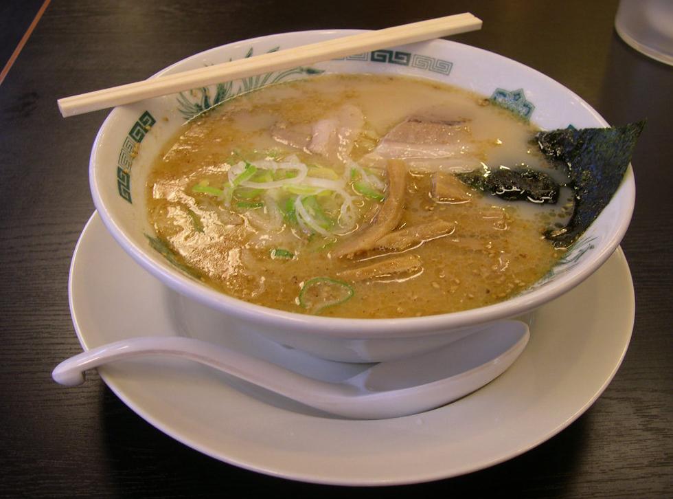 15 Tipos de Restaurantes e especializações Japonesas - Tonkotsu ramen 1