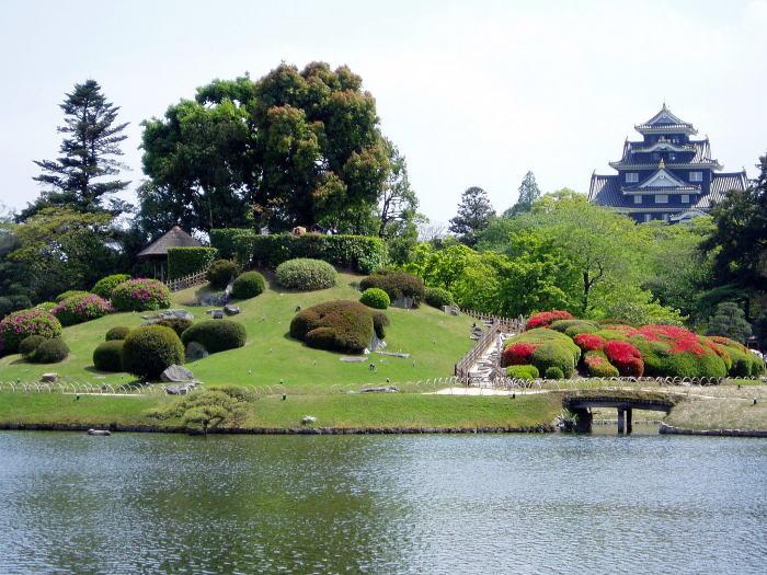 As 20 principais Cidades do Japão - jardim korakuen 2