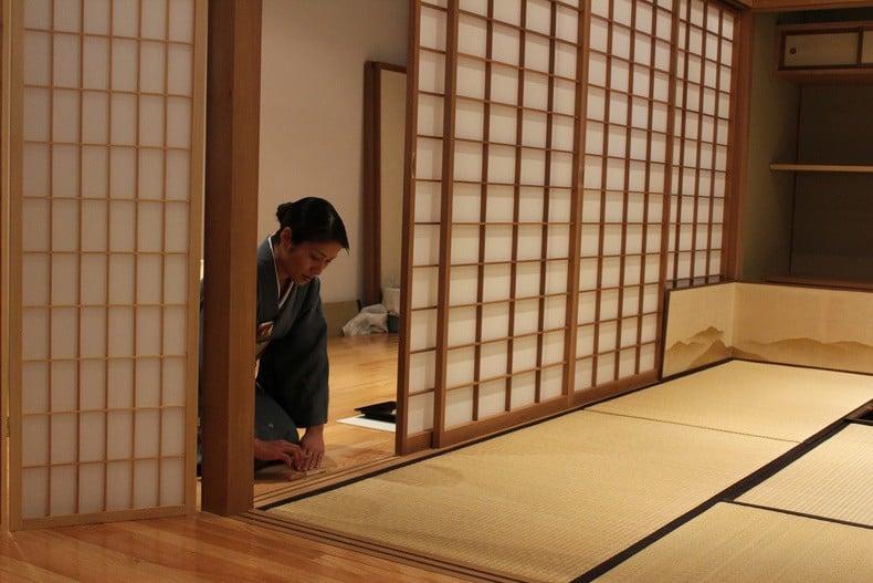 9 Princípios da Arte e Cultura japonesa - shoji casa tatami 1