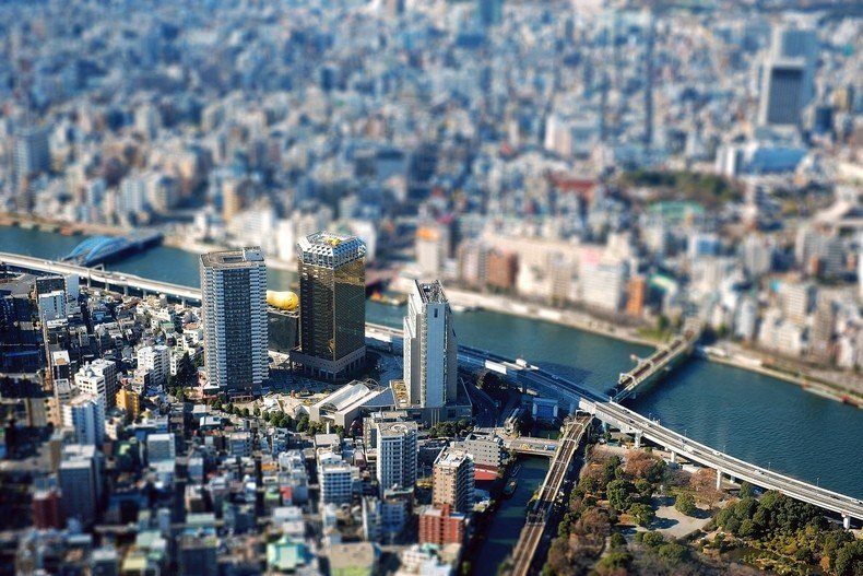Tokyo skytree - the tallest tower in japan