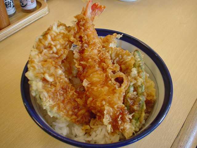 15 Tipos de Restaurantes e especializações Japonesas - tempura prato 5