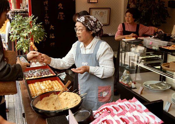 Dango - dulce japonés - curiosidades y receta