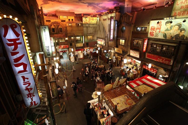 Museu ramen na parte principal yokohama