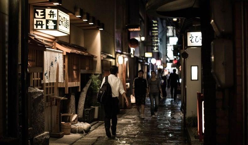 Paixões e estereótipos - coisas que descrevem os japoneses - osaka noite 10