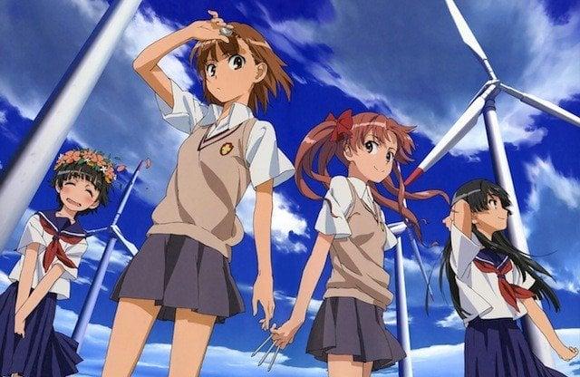 Animes para assistir antes de morrer - railgun index anime 7