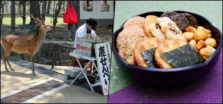 Yatai - Conheça as comidas de rua do Japão senbei