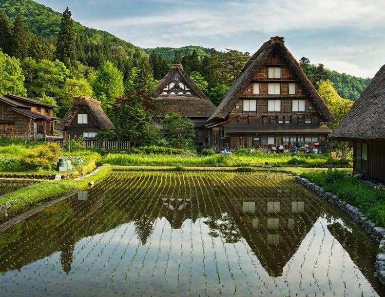 Shirakawa - cidades pequenas do japão perfeitas para visitar
