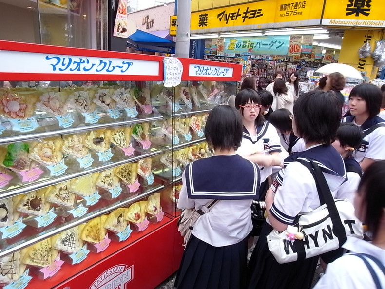 Crepes no japão - curiosidades e receita