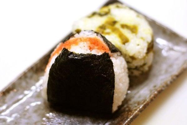 Coisas sobre o Japão: Alimentação - onigiri bolinho de arroz 1
