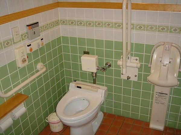 Washiki toire - O Banheiro de estilo japonês - banheiro do japao 2