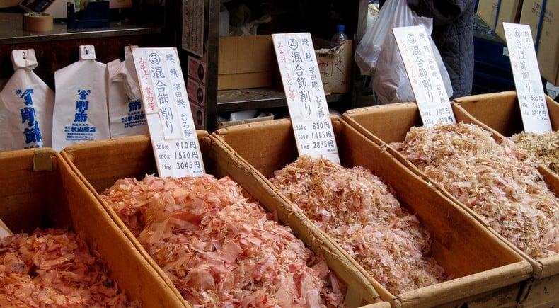 Ingredientes usado na comida japonesa - Parte 1 - katsuoubushi flocos 3