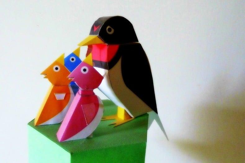 Kirigami - arte de cortar papel japonés