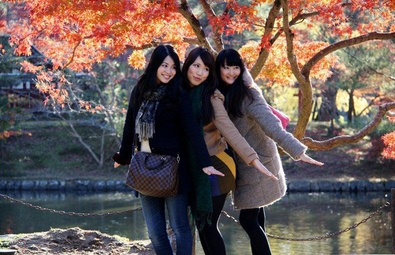Aprecie as folhas do outono no Japão! - japonesas outono 2