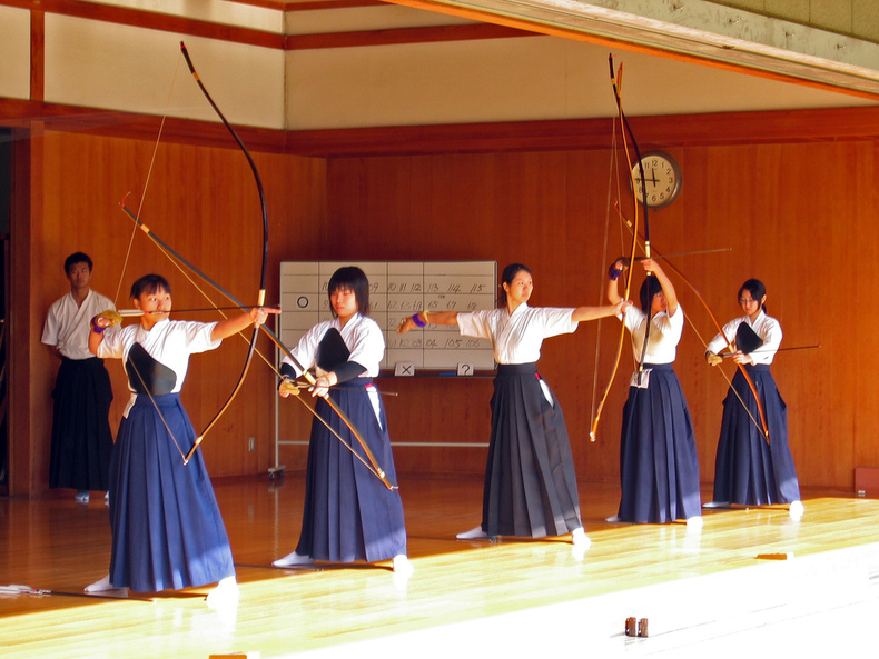 As 10 Artes marciais japonesas + Lista KYUDO [弓道] - O CAMINHO DO ARCO