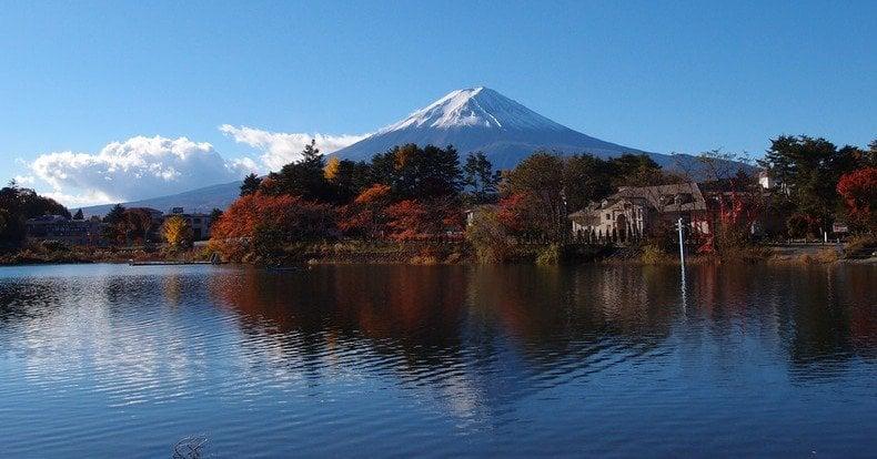É possível conhecer um país sem morar nele? - Desafios - lago fuji outono 1