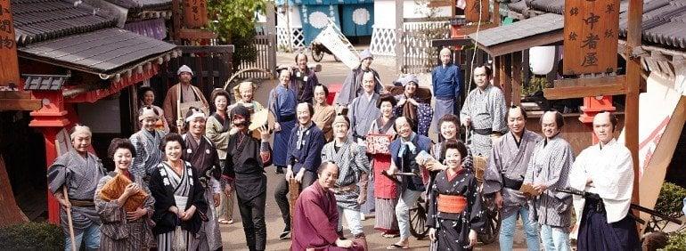Os 10 melhores parques do Japão - edo wonderland mura 5