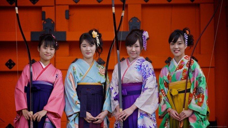Por que os japoneses tem olho puxado? - kyudo luta japonesa 2