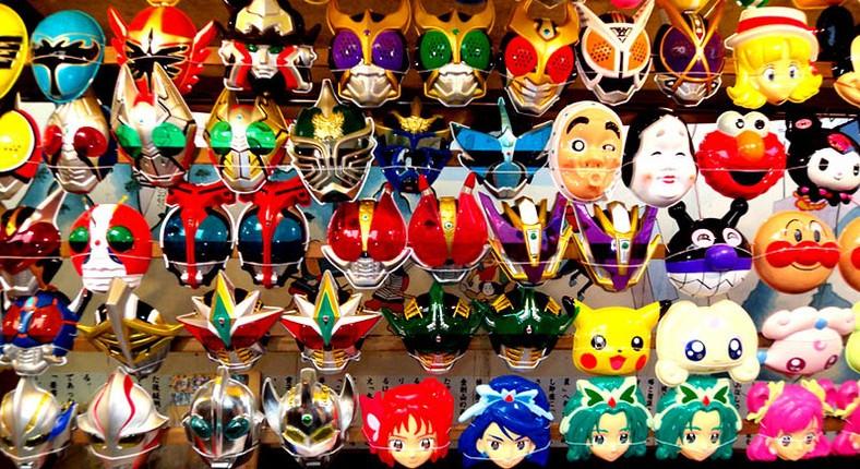 As famosas máscaras japonesas 1