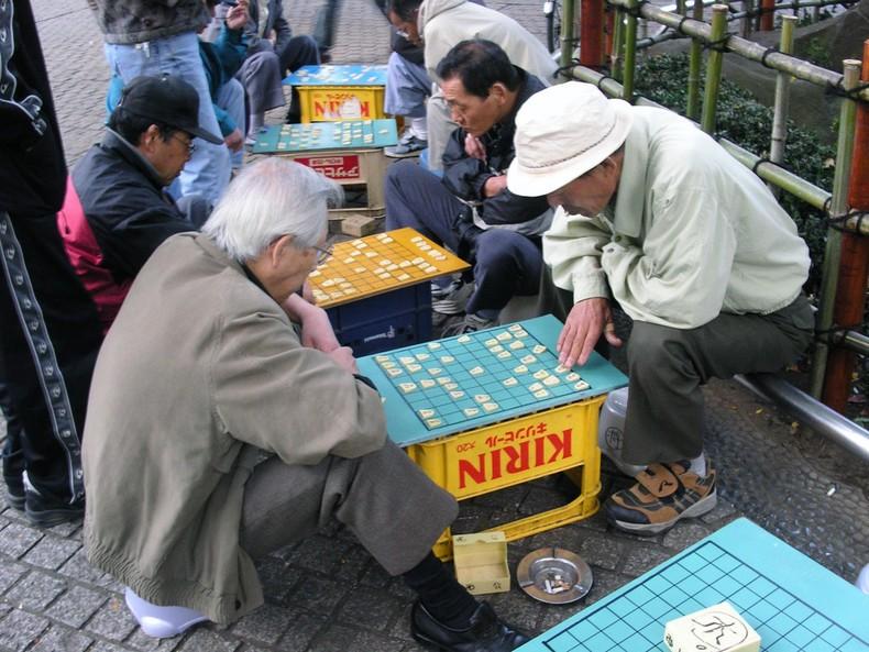 Shogi - cách chơi cờ vua Nhật Bản