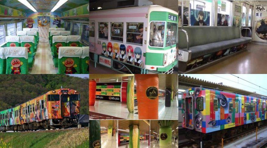 Tất cả về tàu hỏa ở Nhật Bản - tò mò