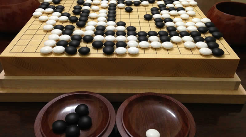 Go - Jogos tradicionais japonês - go tabuleiro 1