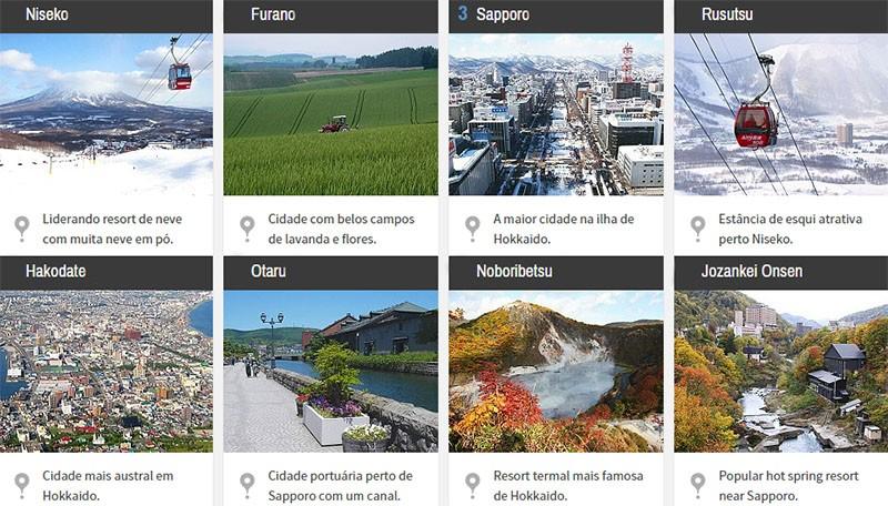 Guía de Hokkaido: sapporo, hakodate y otaru y asahikawa