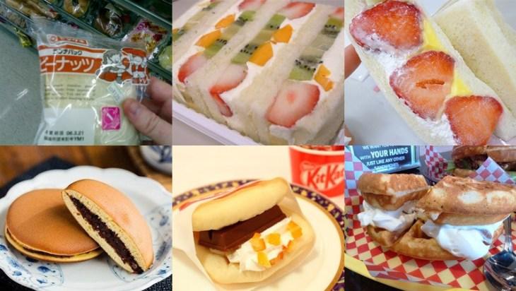 sanduiches doces