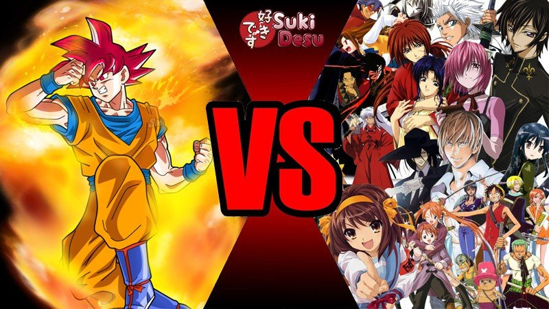 Anime Wars - Guerra entre personagens ou Otakus?