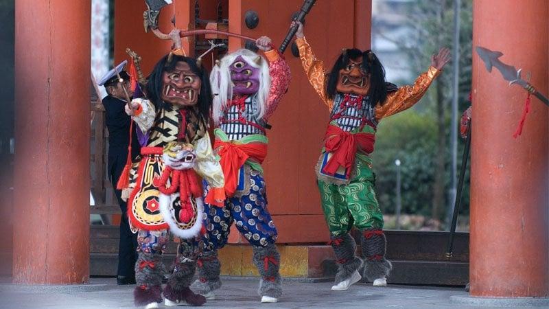 Setsubun - Jogando grãos em Oni para entrar na primavera - setsubun 1
